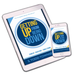 Ebook for Getting up from Being Down by STODD Townsend