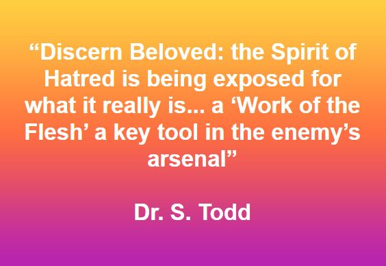Work of the Flesh' a key tool in the enemy's arsenal